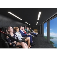 Future 12 KW Seats Motor Air Theater With Over 50 Movies In Amusement Park Manufactures