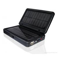 Intelligent Universal 15000mAh Lithium Ion Battery Solar Panel Charger For Mobilephone Manufactures