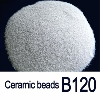 Buy cheap Solid Round B120 0.125mm Ceramic Blasting Beads For Aluminium Profile from wholesalers