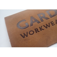 Manufacturer Custom logo Logo Embossed Leather Patches for Handbag,For Hat/Clothing Manufactures
