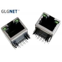 Buy cheap Ethernet Router RJ45 Connector With Magnetics 10 / 100 Through Hole Mounting from wholesalers