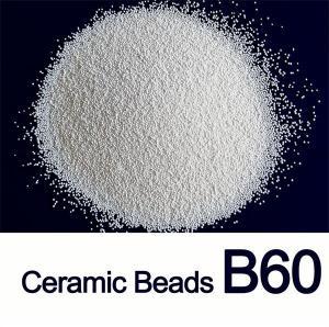 B60 Ceramic Blasting Abrasive Media 0.300mm For Aluminium Plate Manufactures