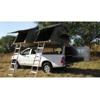 Anti UV 4x4 Camping Tents , Rooftop Pop Up Camper Tent With 2.3m Ladder Manufactures