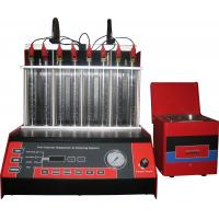 Buy cheap Automatic Car Fuel Injector Cleaning Machine With Mono Injector ,8 cylinders, from wholesalers