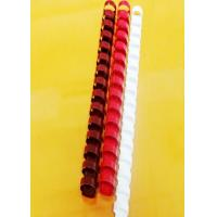 21 Rings Notebook Plastic Binding Comb , Plastic Binding Rings 12.7mm Pitch Manufactures