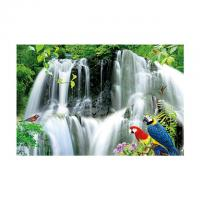 Large Size PET 3D Lenticular Printing Poster Of Waterfall Scenery Theme Manufactures