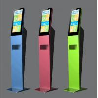 Slim Floor Standing Kiosk Anti Covid 19 Support Wireless Access And LAN Access Manufactures