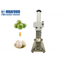 Durable Semi Automatic Electrical Coconut Shell Machine Husk Shredder Manufactures