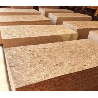 Natural Wood Color Oriented Strand Board 9 - 20mm Thickness With Polished Surface Manufactures
