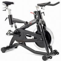 Fitness Bike with Steel-coated Frame and Push Brake Safety System, Ideal for Commercial Use Manufactures