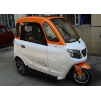 3 Seat Adult 1500W Enclosed Electric Tricycle Manufactures