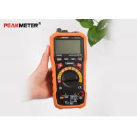 Commercial Auto Range Digital Multimeter With Relative Sound Level Meter Function Manufactures