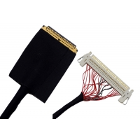 HDMI High Definition Black 1.0mm 36 AWG LVDS Cable Manufactures