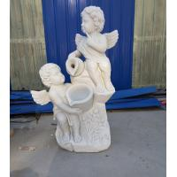 Garden stone angel boy statue marble angel hand carved sculptures,stone carving supplier Manufactures