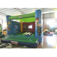 Attractive Blow Up Jump House 0.55mm Pvc , Outdoor Games Toddler Bounce House Manufactures