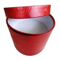 Cute round gift boxes with logo Manufactures