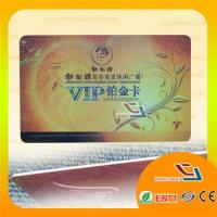 Buy cheap Glossy Finish Plastic VIP Card from wholesalers