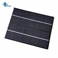 China ZW-210156-M Waterproof monocrystalline solar panel 5V 5W solar charger for mobile phones on sale