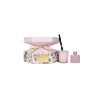 Rose Electroplating Candle And Reed Diffuser Gift Set Manufactures