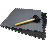 Buy cheap Heavy duty PVC indoor interlocking floor tiles for workshop/removable plastic from wholesalers