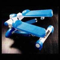 Mini Exercise Stepper with Two Transparent Blue Cylinder Manufactures