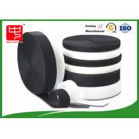 Grade A Heavy duty fabric hook and loop fasteners 100% nylon black and white Manufactures