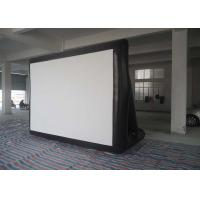 Outdoor 0.55mm PVC Tarpaulin Inflatable Model , Inflatable Movie Screen For  Family / Party Time Manufactures