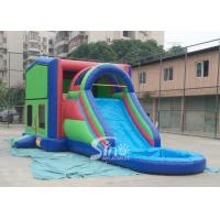 Quality 5in1 module panels outdoor kids inflatable bounce house slide combo from Sino Inflatable for sale