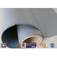 Buy cheap Non-adhesive 0.45mm Gray Color 510g High Insulaiton Silicone Coated Fiberglass from wholesalers