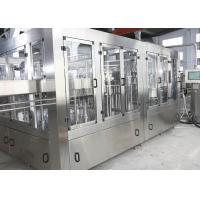 Touch Screen SS304 Carbonated Soft Drink Production Line Manufactures