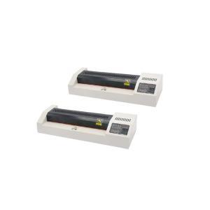 330 Leds Hot / Cold Laminator Machine , Roller Dia25mm A3 Paper Lamination Machine Manufactures