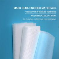 20gsm-150gsm Spunbond Nonwoven Fabric N99 Polypropylene Medical Meltblown Fabric Manufactures