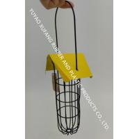 Yellow Roof 3 Fat Ball Bird Feeder Stainless Steel Handle For Garden Manufactures