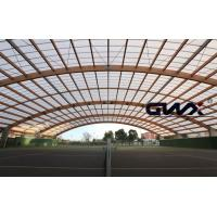 UV Ttransparent polycarbonate corrugated roofing sheet Panels for Sport Playground Manufactures