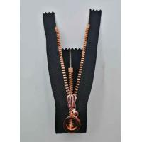 Y Style Metal Teeth Zipper With Auto Lock For Work - Wear / Closed Ended Metal Zips Manufactures