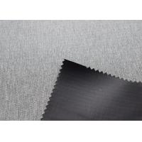 Grey 420gsm Outdoor Tent Fabric Wrinkle Resistance Comfortable Touch Manufactures