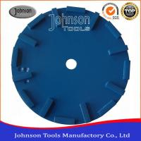China Silver Brazed Concrete Grinding Wheel For Angle Grinder 250mm on sale