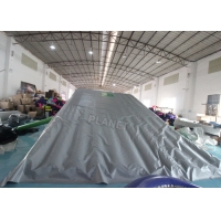 EN71 Inflatable Sports Games Jump Stunt Landing Airbag With Ramp Manufactures