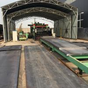 80 Ton Heavy Duty Truck Weigh Bridge Scale Anti - Skid Truck Scale 3*18m Manufactures