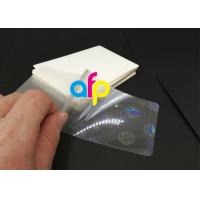 Hologram Laminating Pouches Matte Finish / Glossy Manufactures