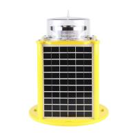 Fast delivery high visibility silicon solar elevated aircraft approaching signal lights for airport airfield Manufactures