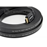 UHD 3840 4K Flat Hdmi Cord HDMI A to A Plug CL3 Rage for TV LCD Display Projector Manufactures