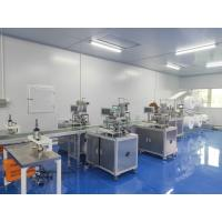 N95 Surgical Face Mask Production Line For Ultrasonic Mask Edge Sealing Manufactures