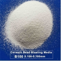 Buy cheap B100 Zirconia Ceramic Blasting Media For Stainless Steel Parts from wholesalers