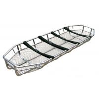 Stainless Steel Patient Transport Stretchers / Basket Stretcher For Hospital Manufactures