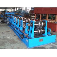 Metal Structure C Z Purlin Roll Forming Machine For Steel Workshop Manufactures