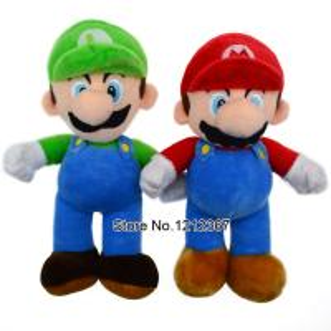 China 23CM=9'' Super Mario Bros plush doll toys  Plush Stuffed Toy Retail Child cartoon gift on sale