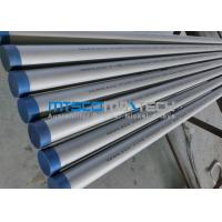 2205 Material Duplex Steel Tube Hydraulic Test With Pickling Surface Manufactures