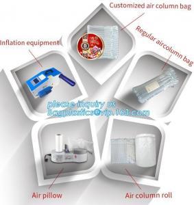 cushion pillow air bag, cushion pillow dunnage air bag, air poly packing bag nylon air bubbles air pillow bag, bagplasti Manufactures