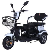 Front Mounted Basket 20Ah Three Wheel Electric Scooter Manufactures